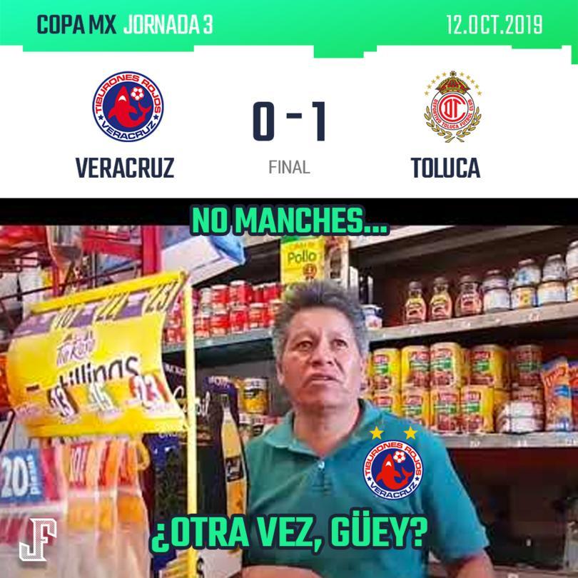 ¡TOLUCA LO VOLVIÓ A HACER!  En partido pendiente de la Copa MX, el Toluca volvió a ganarle al Tibu.
