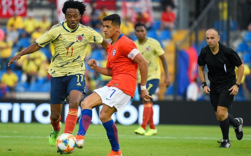 Alexis fue baja durante el juego contra Colombia y quedará fuera tres meses