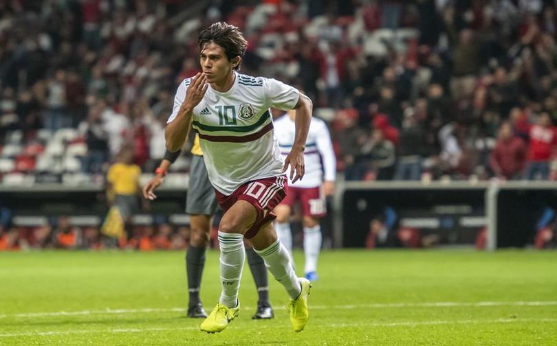 José Juan Macías uno de los jugadores más prometedores de México