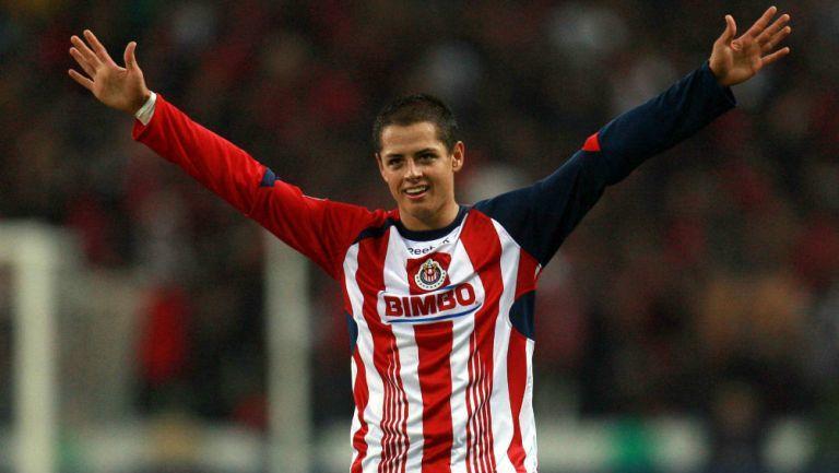 Los dos goles que Chicharito considera como especiales en su carrera