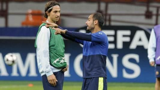 Ibrahimovic y Guardiola