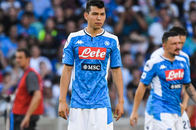 Hirving Lozano regresa a la convocatoria del Napoli