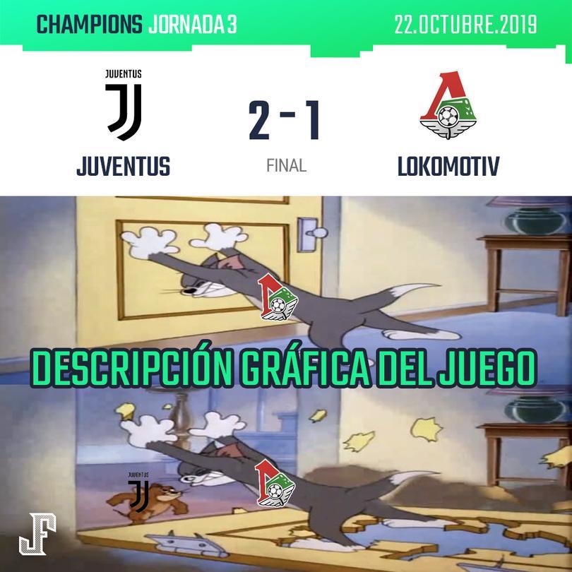 Juventus 2-1 Lokomotiv