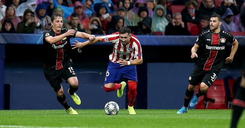 Héctor Herrera tuvo un buen juego frente al cuadro bávaro