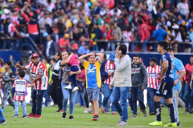 Ya hay castigos para San Luis y Querétaro por los hechos de violencia