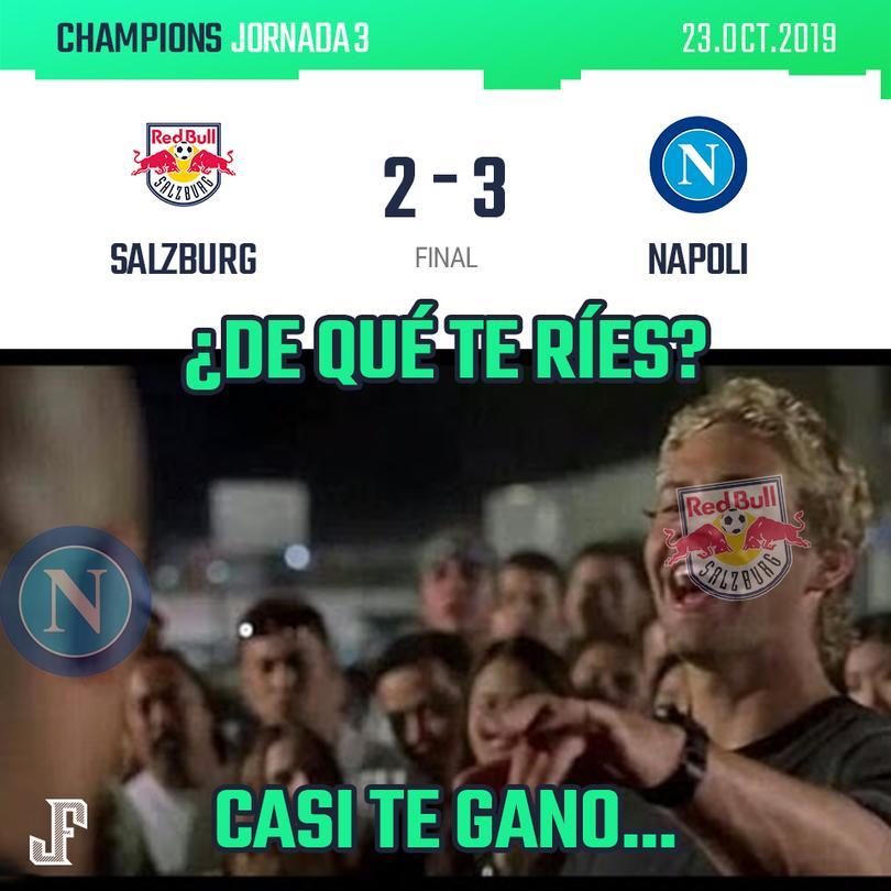 Napoli logra sacar los tres puntos de visita. Hirving Lozano jugó 65 minutos.