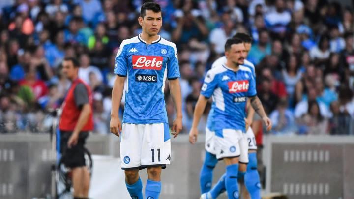 En Italia se van contra Lozano por 'aún no explotar su talento' con Napoli