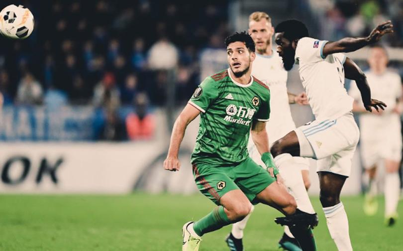 Raúl Jiménez volvió a marcar en la Europa League