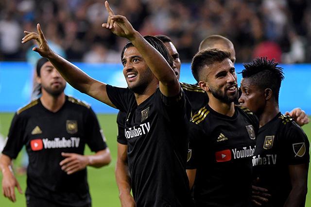 LAFC ganó 5-3 al Galaxy para avanzar a la final de conferencia