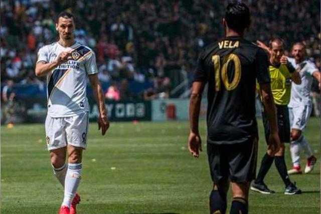 Zlatan Ibrahimovic le tiró a LAFC y Carlos Vela