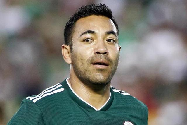 Marco Fabián le manda un guiño a Ricardo Peláez