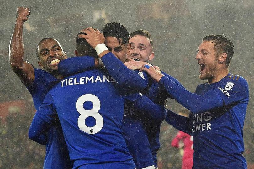 Leicester se coloca segundo en la tabla