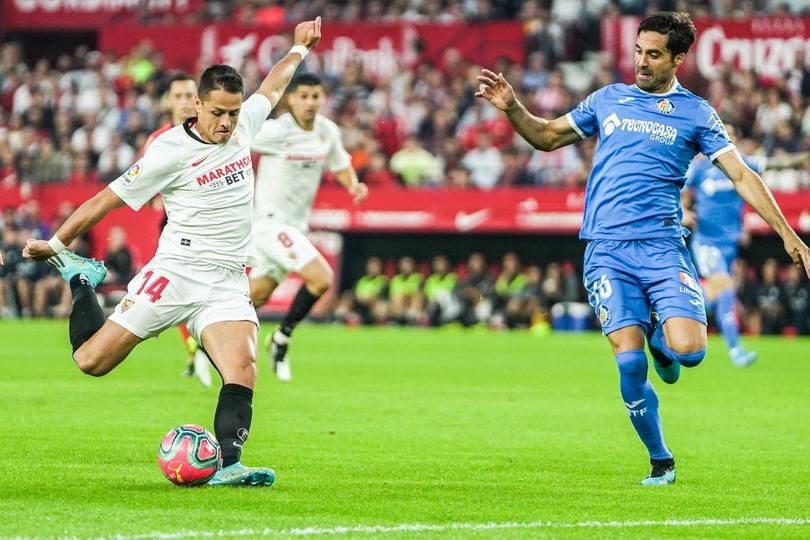 El gol de Chicharito ante el Getafe