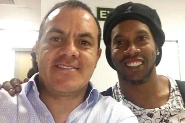 Cuauhtémoc Blanco y Ronaldinho jugarán en Zacatepec