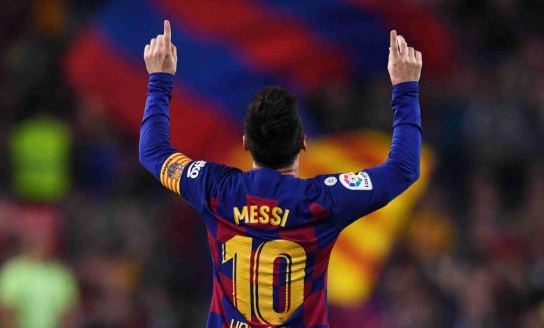 Lionel Messi llego a 50 goles en su carrera