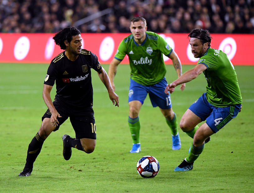 Vela vs Seattle Sounders