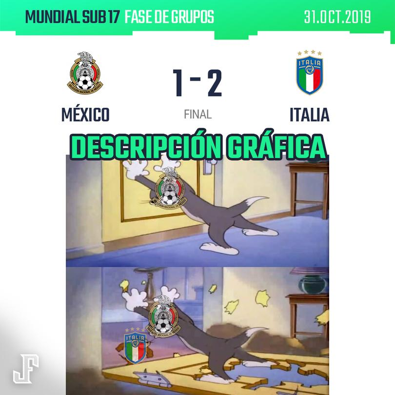 México vs Italia