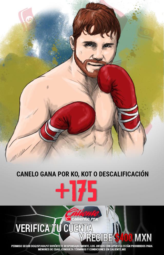 Si crees que Canelo le gana a Kovalev por KO, KOT o Descalificación, apuesta en Caliente y llévate mucho dinero.