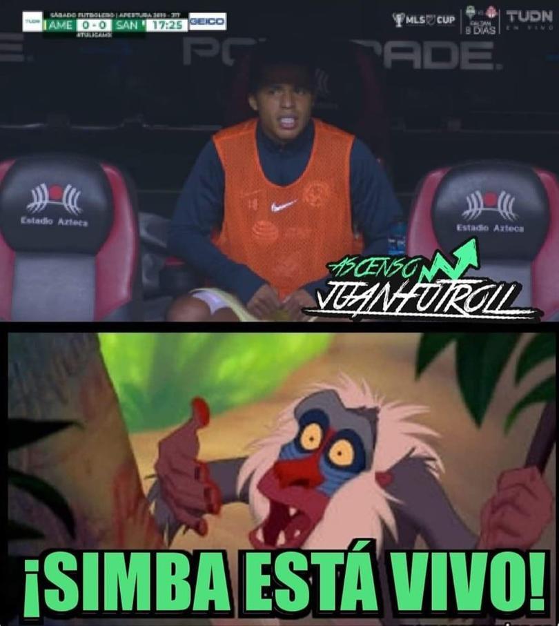 Los mejores memes del América vs Santos