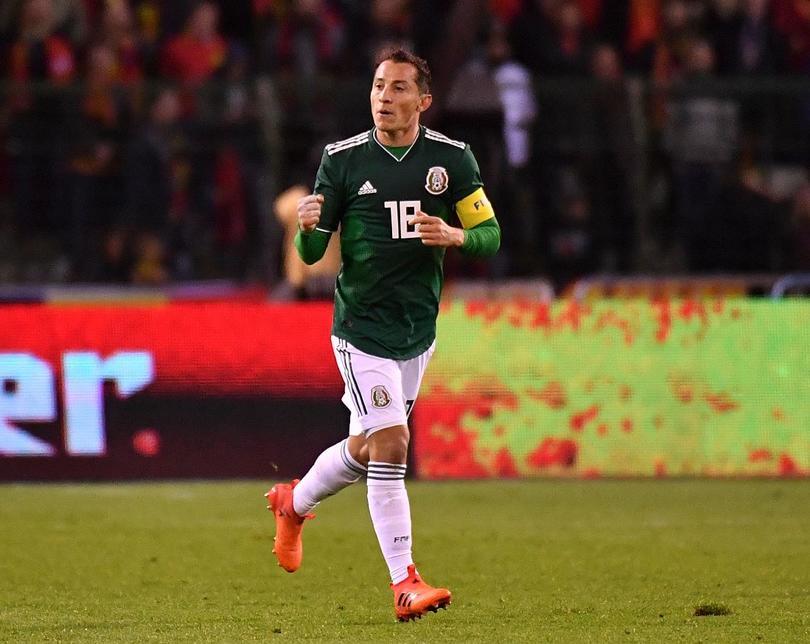 Guardado se convirtió en el capitán de la Selección tras el retiro de Rafael Marquez