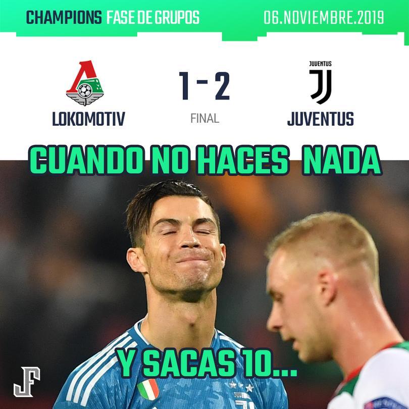 Lokomotiv 1-2 Juventus