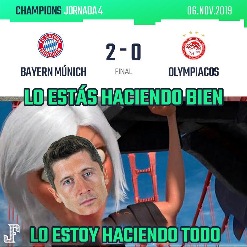 Bayern 2-0 Olympiacos