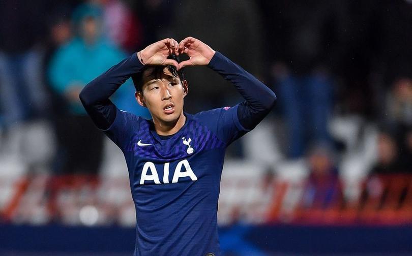 Heung-Min Son anota gol y lo dedica con disculpas a André Gomes
