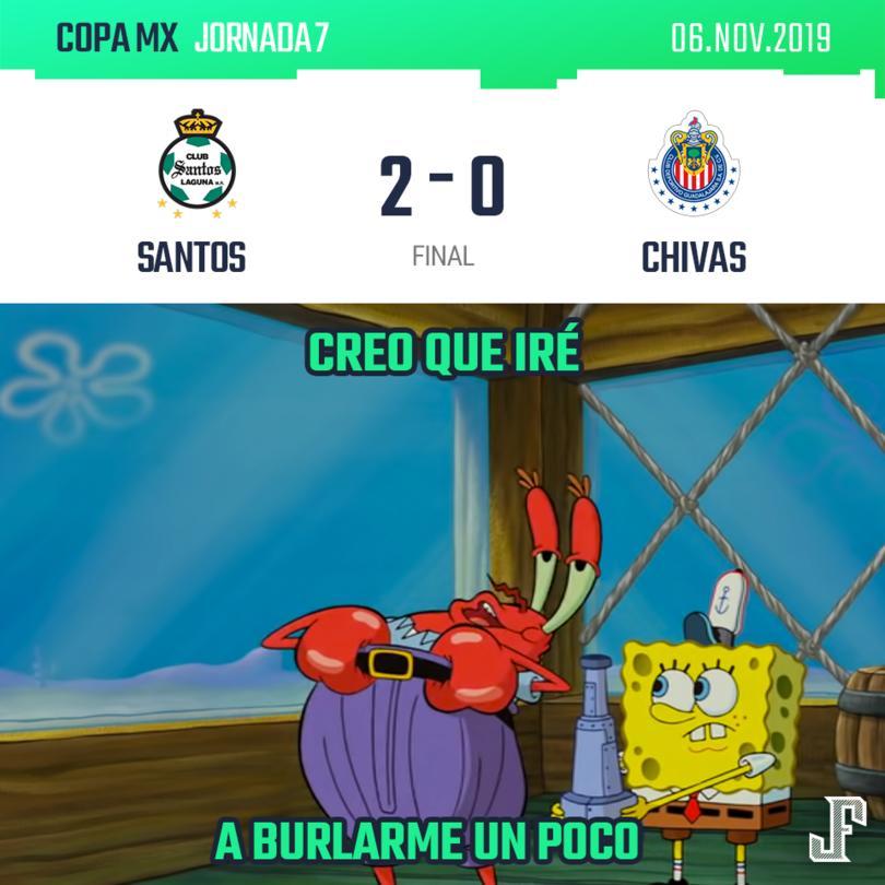 Con gol de Lozano y Rivero, Santos venció a Chivas en la última jornada de la Copa MX.