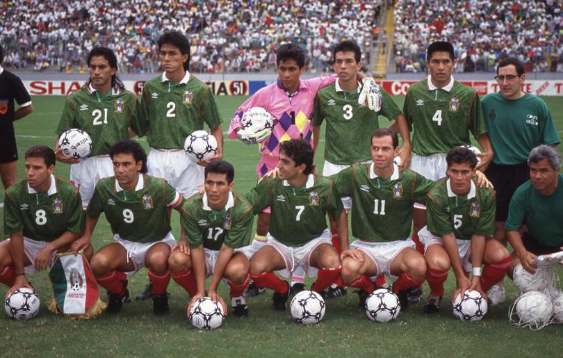 México en su primera participación en el lejano 1993
