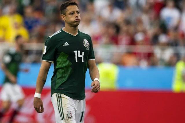 Chicharito estaría borrado de la Selección Mexicana