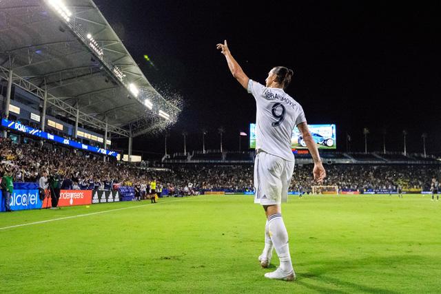 Zlatan Ibrahimovic se despidió del Galaxy