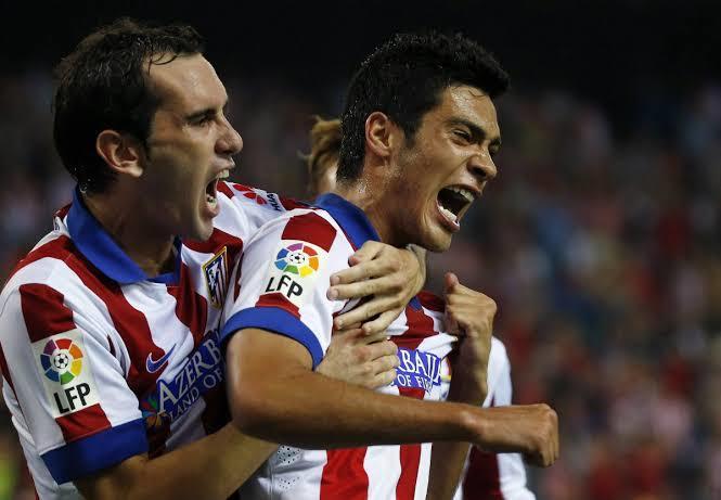 Raúl Jiménez en el Atlético de Madrid
