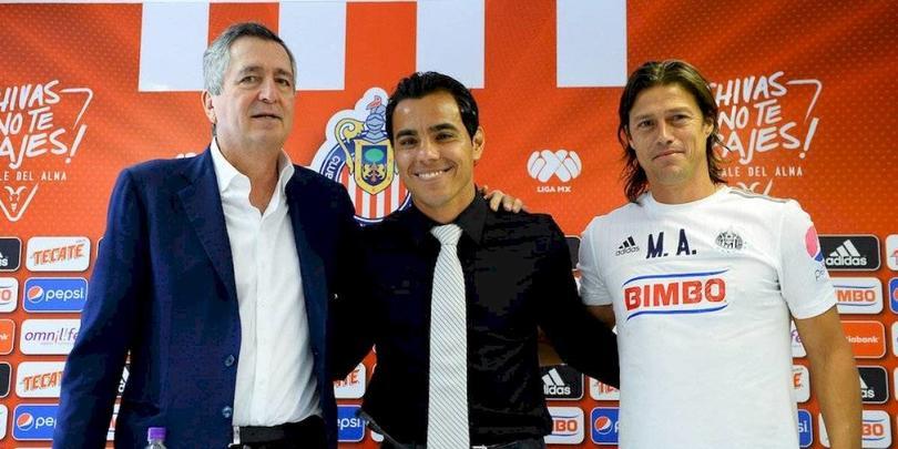 Bravo junto a Vergara y Almeyda fueron parte importante de Chivas