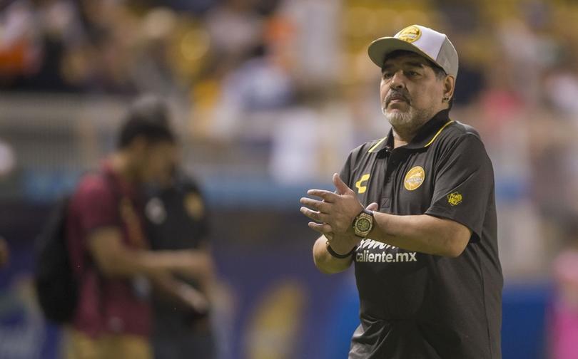 Maradona estaría cerca de regresar a Dorados