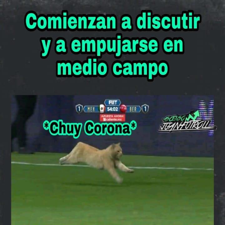 Los mejores memes del México vs Bermuda