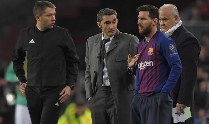 Messi ya habría aprobado al técnico que sustituya a Valverde