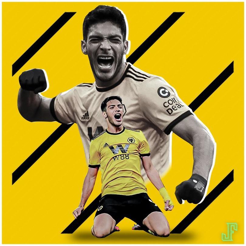 Gol de Raúl Jiménez para poner el segundo gol de Wolves contra el Bournemouth. ¿Hay algo que este hombre no haga bien?