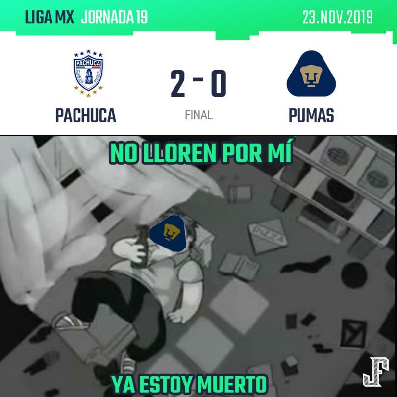 Triste pero cierto, Pumas tenía todo para calificar a la liguilla pero en los últimas tres jornadas se desinflaron.