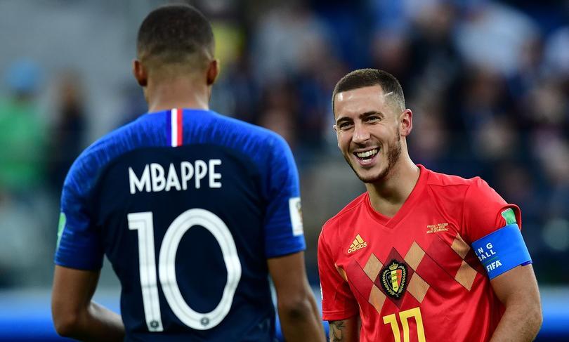 Mbappé y Hazard
