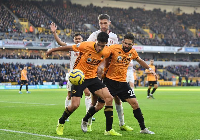 La increíble asistencia de Raúl Jiménez ante Sheffield