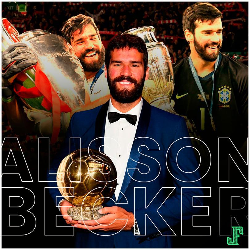 Ganador de la Champions League, Copa América y acutal líder de la Premier League, ganó el premio al mejor portero.