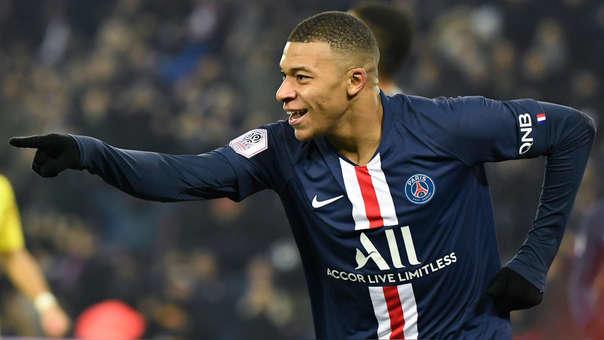 La joya de gol que se aventó Mbappé contra el Nantes