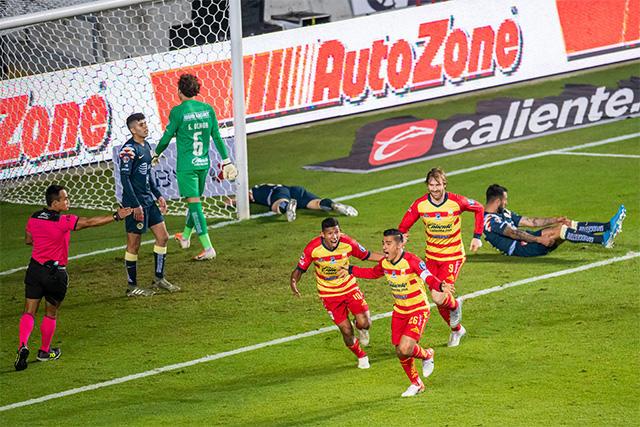 Morelia venció 2-0 al América