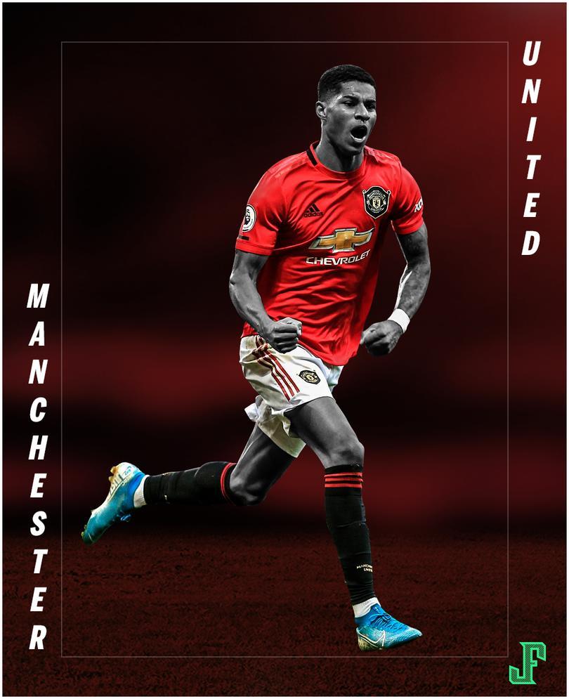 Con goles de Martial y Rashford el Manchester United derrota 2-1 a Manchester City