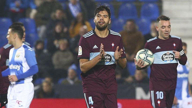 El gol de Néstor Araujo ante el Leganés de Aguirre