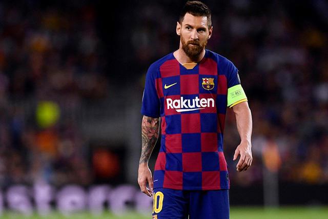 Messi es baja con el Barcelona