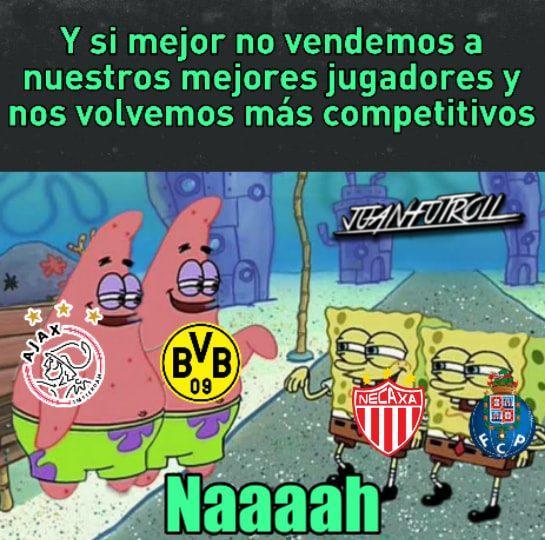 Los memes que nos dejó el penúltimo días de la fase de grupos de la Champions League