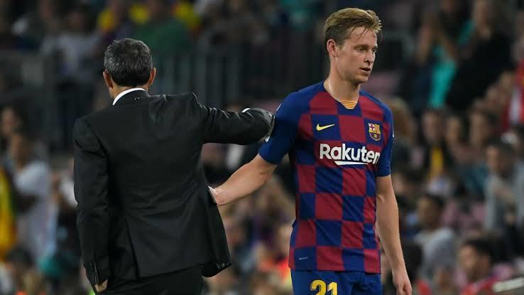 La reacción de Frenkie De Jong cuando se enteró de la eliminación de Ajax