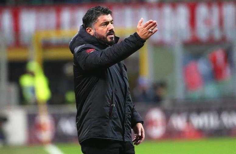 Un verdadero reto se le viene ahora a Gattuso con el Napoli