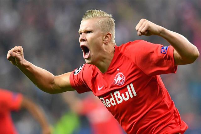 Erling Haaland podría llegar al Dortmund